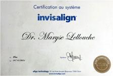 certificat Invisalign