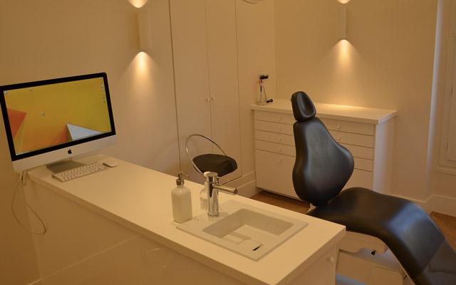 cabinet d'orthodontie, salle de soins