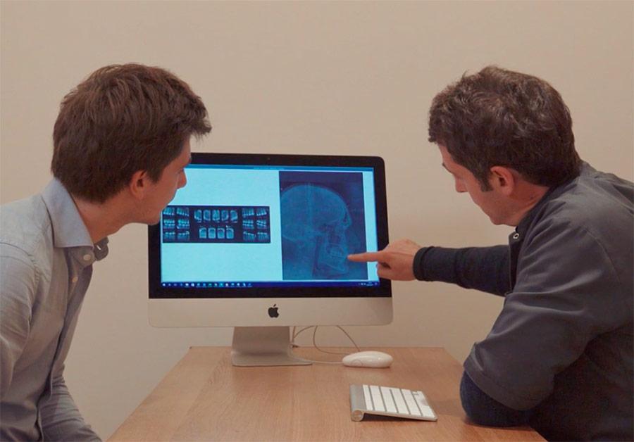 consultation pour obtenir un devis d'orthodontie